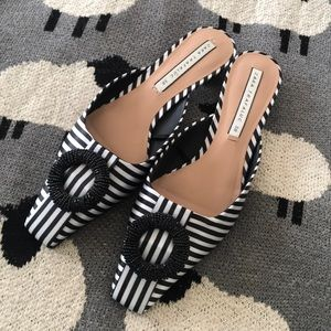 Zara Beautiful Mules almost new Size:38